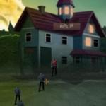 Игра Нападение зомби на дом