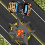 Игра Интересные гонки на машинах со стрелялками