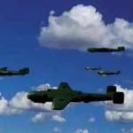 Игра Онлайн стрелялка с видом из кабины самолета