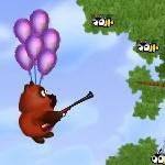 Игра Винни Пух на воздушном шарике