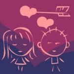 Игра Стрела любви для девочки и мальчика