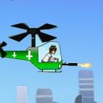 Игра Бен Тен на вертолете