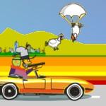 Игра Безумные охотники на машине