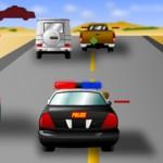 Игра Полицейская стрелялка на машинах