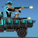 Игра На грузовике против зомби
