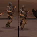 Игра Военная база под защитой снайперов