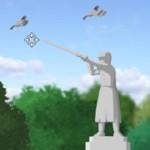 Игра Птицы над памятником