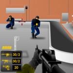 Игра Освобождение аэропорта от захватчиков