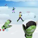 Игра Игра в снежки онлайн