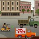 Игра Защита грузовика от мафии