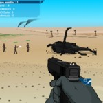 Игра Защита вертолета
