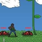 Игра Нападение насекомых