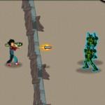 Игра Против зомбо-роботов