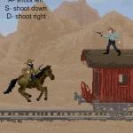 Игра Бандиты на вагонах поезда