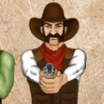 Игра Защити город от бандитов