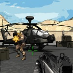 Игра Солдат против бандитов в крутой стрелялке
