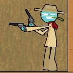 Игра Стрельба с отскоками