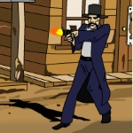Игра Стрелялки между шерифом и преступниками