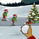 Игра Новогодняя стрелялка с зомби
