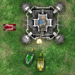 Игра Защита пушки от танков